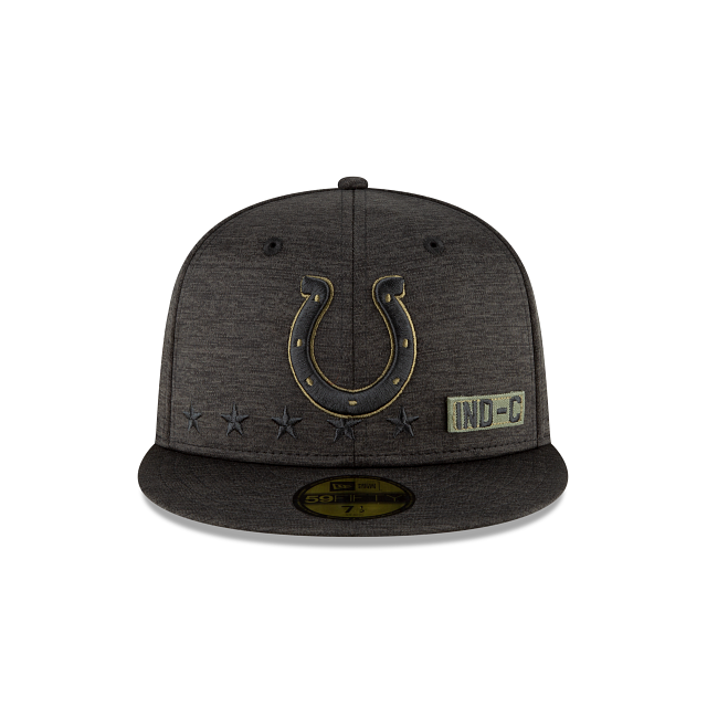 Indianapolis Colts Salute To Service 59FIFTY Fitted | Indianapolis Colts Hats | New Era Cap