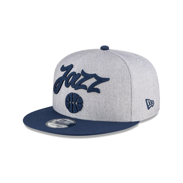 Utah Jazz Official NBA Draft 9FIFTY Snapback | Utah Jazz Hats | New Era Cap