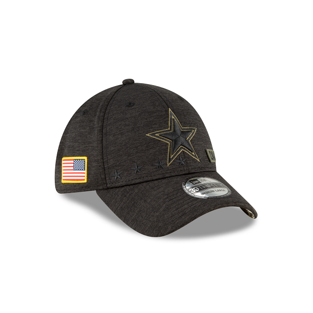 Dallas Cowboys Salute To Service 39THIRTY Stretch Fit | Dallas Cowboys Hats | New Era Cap