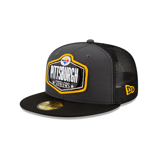 Pittsburgh Steelers NFL Draft 59FIFTY Fitted | Pittsburgh Steelers Hats | New Era Cap