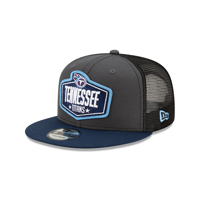 Tennessee Titans NFL Draft 9FIFTY Snapback | Tennessee Titans Hats | New Era Cap