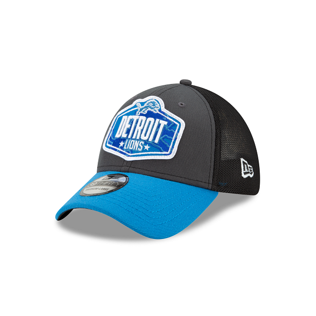 Detroit Lions NFL Draft 39THIRTY Stretch Fit | Detroit Lions Hats | New Era Cap