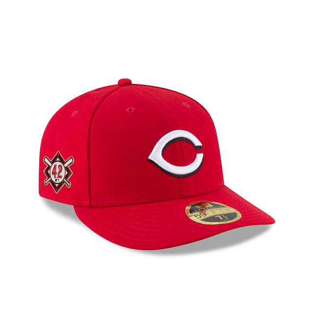 Cincinnati Reds Jackie Robinson Day Low Profile 59FIFTY Fitted | Cincinnati Reds Hats | New Era Cap