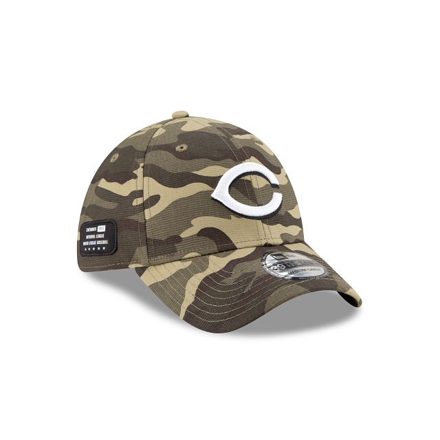 Cincinnati Reds Armed Forces Weekend 39THIRTY Stretch Fit | Cincinnati Reds Hats | New Era Cap