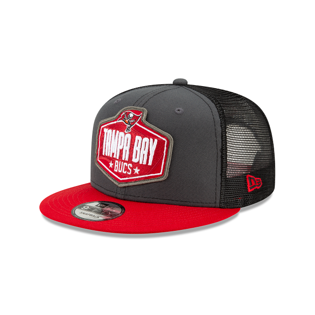 Tampa Bay Buccaneers NFL Draft 9FIFTY Snapback | Tampa Bay Buccaneers Hats | New Era Cap