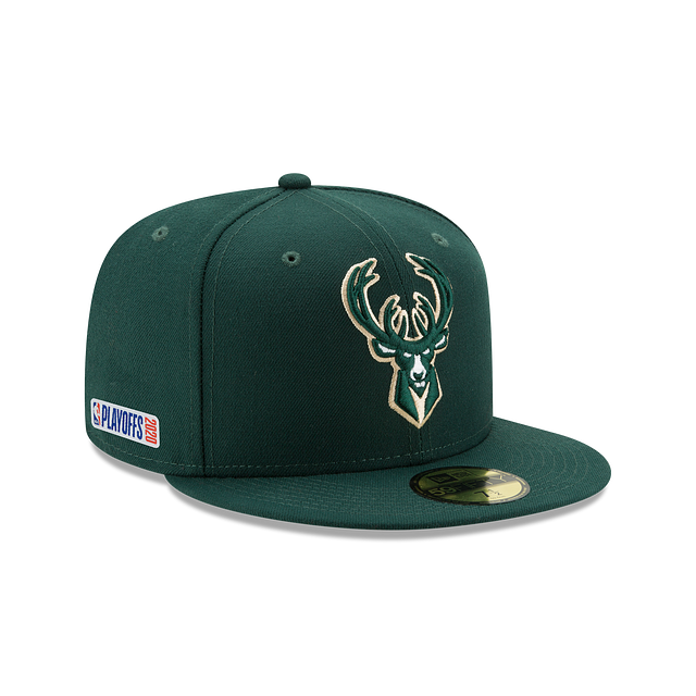 Milwaukee Bucks Playoff Series 59FIFTY Fitted | Milwaukee Bucks Hats | New Era Cap
