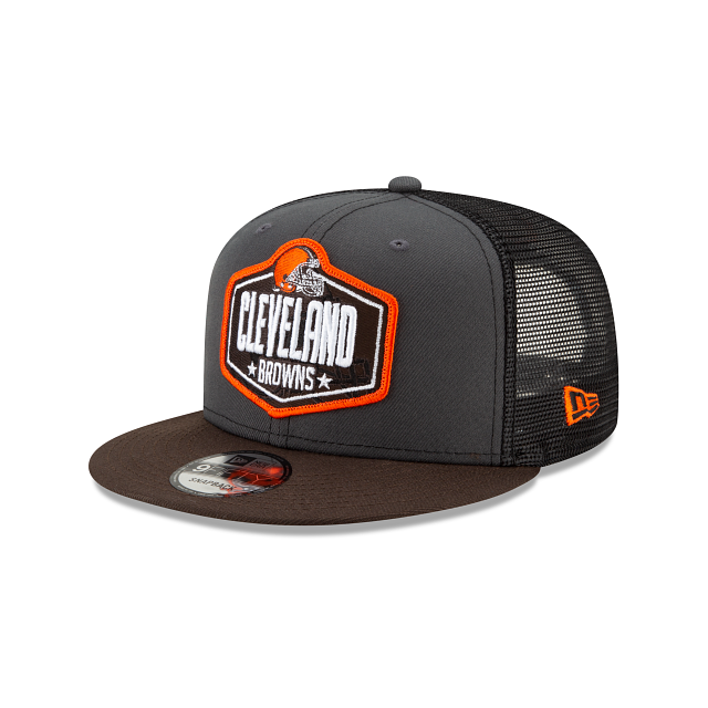 Cleveland Browns NFL Draft 9FIFTY Snapback | Cleveland Browns Hats | New Era Cap