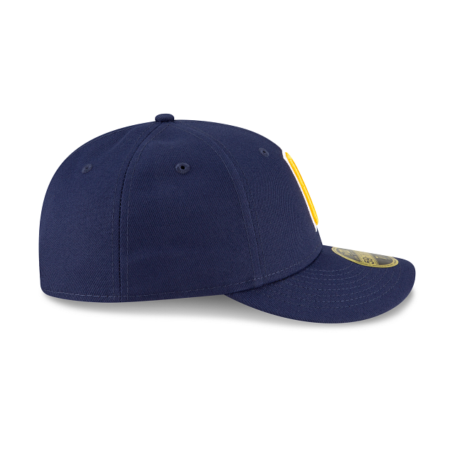 Milwaukee Brewers Ligature Low Profile 59FIFTY Fittted | Milwaukee Brewers Hats | New Era Cap