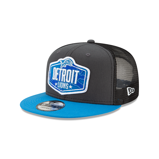 Detroit Lions NFL Draft 9FIFTY Snapback | Detroit Lions Hats | New Era Cap