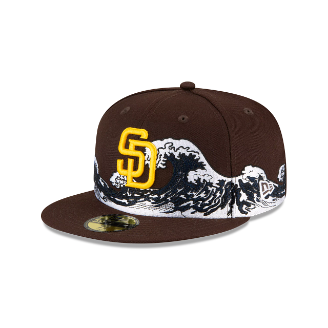 San Diego Padres Wave 59FIFTY Fitted | San Diego Padres Hats | New Era Cap