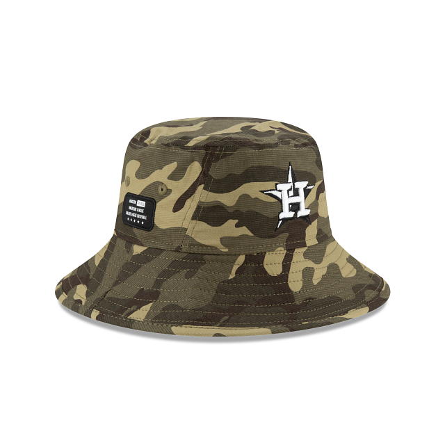 Houston Astros Armed Forces Weekend Stretch Bucket | Houston Astros Hats | New Era Cap