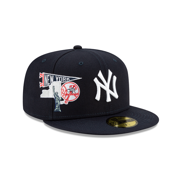 New York Yankees City Patch 59FIFTY Fitted | New York Yankees Hats | New Era Cap
