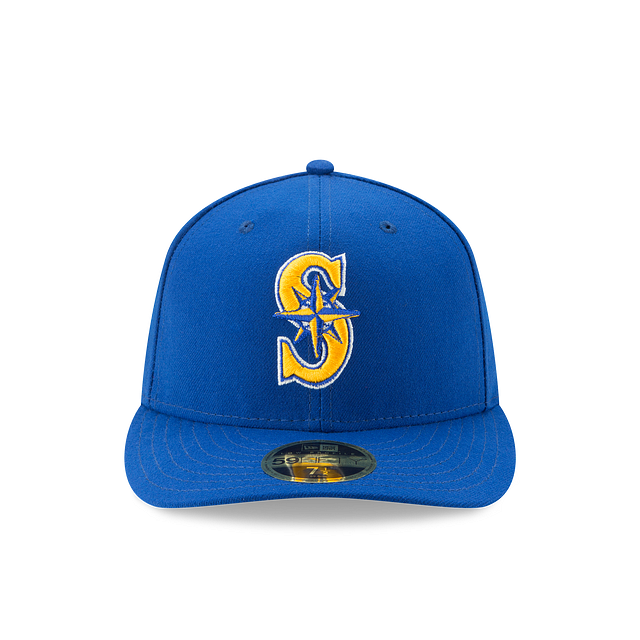Seattle Mariners Authentic Collection Low Profile 59FIFTY | Seattle Mariners Hats | New Era Cap