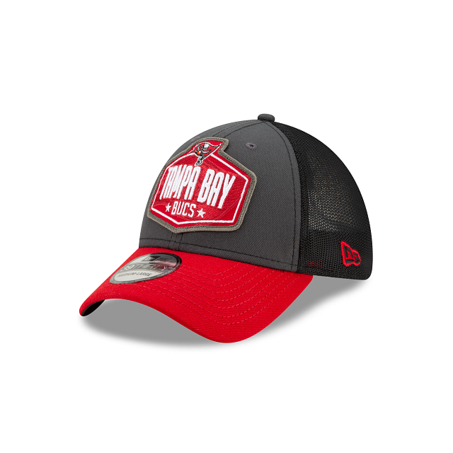 Tampa Bay Buccaneers NFL Draft 39THIRTY Stretch Fit | Tampa Bay Buccaneers Hats | New Era Cap