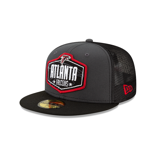 Atlanta Falcons NFL Draft 59FIFTY Fitted | Atlanta Falcons Hats | New Era Cap