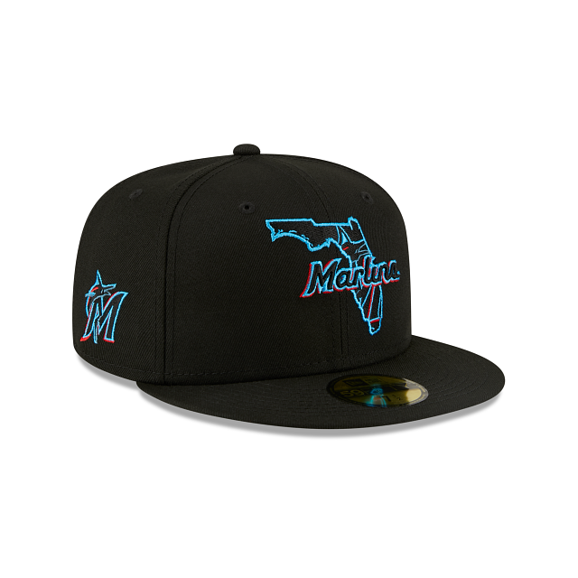 Miami Marlins Local 59FIFTY Fitted | Miami Marlins Hats | New Era Cap