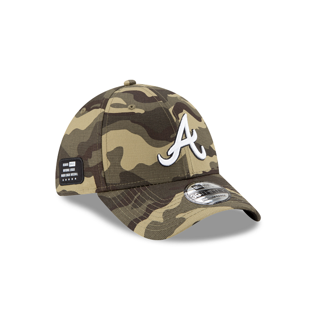 Atlanta Braves Armed Forces Weekend 39THIRTY Stretch Fit | Atlanta Braves Hats | New Era Cap