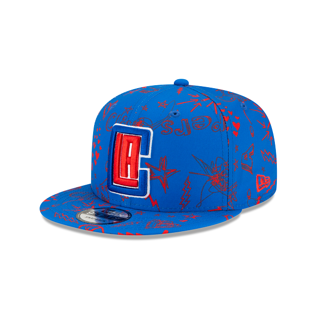 Los Angeles Clippers Doodle 9FIFTY Snapback | Los Angeles Clippers Hats | New Era Cap