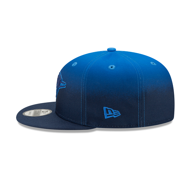 Oklahoma City Thunder Back HaLF 9FIFTY Snapback | Oklahoma City Thunder Hats | New Era Cap