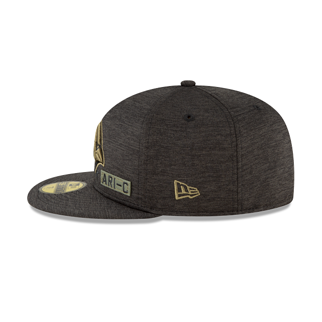 Arizona Cardinals Salute To Service 59FIFTY Fitted | Arizona Cardinals Hats | New Era Cap