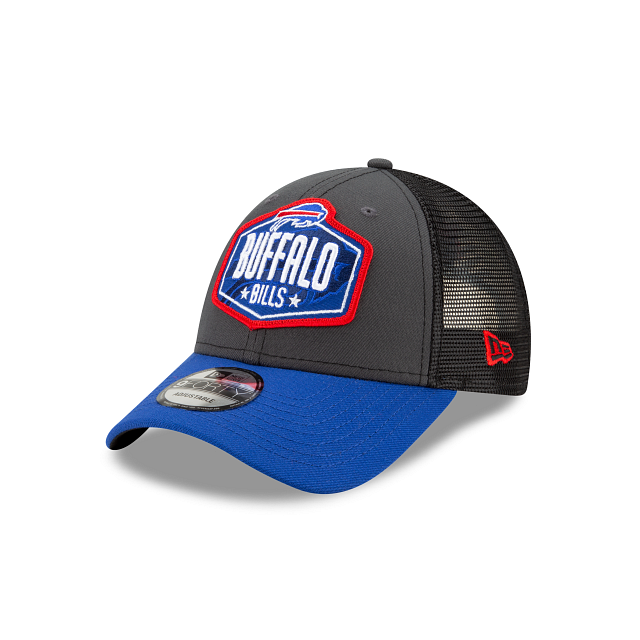 Buffalo Bills NFL Draft 9FORTY Adjustable | Buffalo Bills Hats | New Era Cap