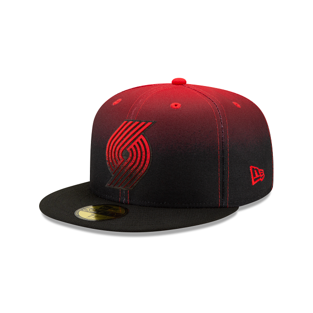 Portland Trail Blazers Back HaLF 59FIFTY Fitted | Portland Trail Blazers Hats | New Era Cap