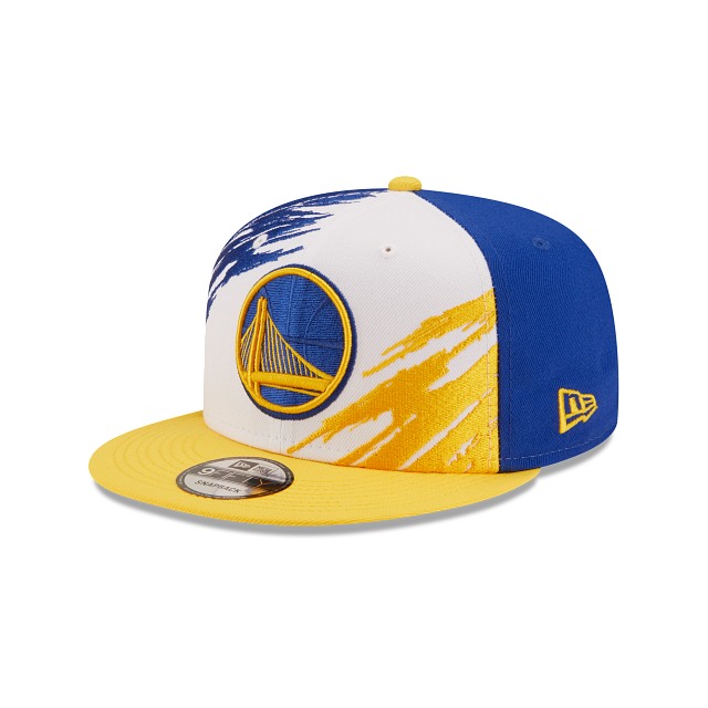 Golden State Warriors Splatter 9FIFTY Snapback | Golden State Warriors Hats | New Era Cap