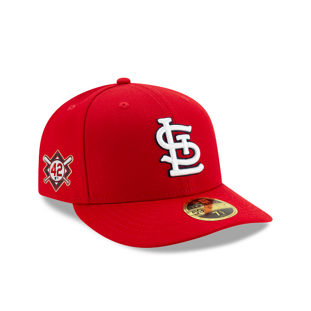 St. Louis Cardinals Jackie Robinson Day Low Profile 59FIFTY Fitted | St. Louis Cardinals Hats | New Era Cap