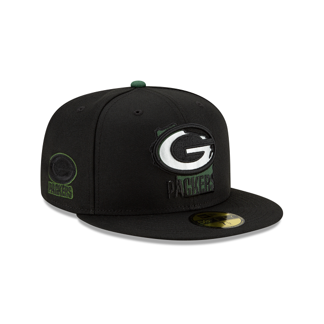 Green Bay Packers State Logo Reflect 59FIFTY Fitted | Green Bay Packers Hats | New Era Cap