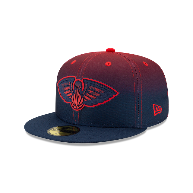 New Orleans Pelicans Back HaLF 59FIFTY Fitted | New Orleans Pelicans Hats | New Era Cap