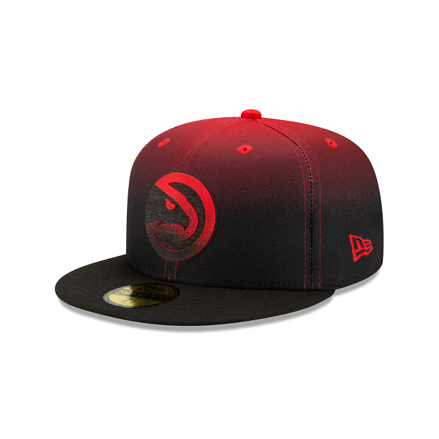 Atlanta Hawks Back HaLF 59FIFTY Fitted | Atlanta Hawks Hats | New Era Cap