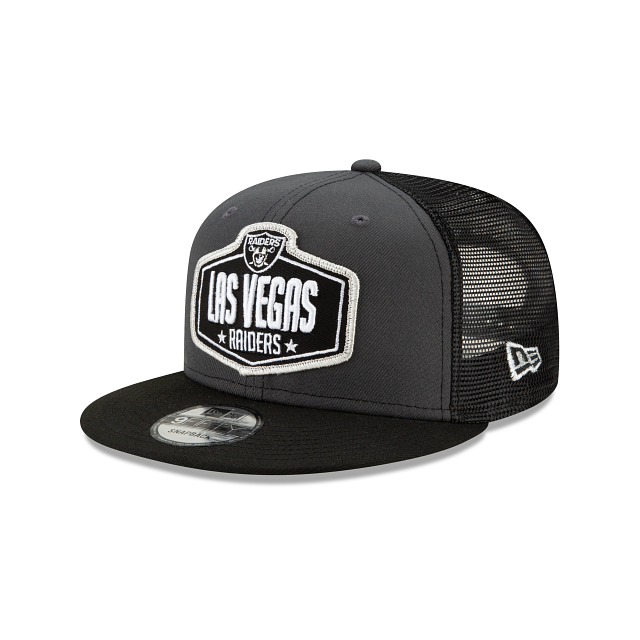 Las Vegas Raiders NFL Draft 9FIFTY Snapback | Las Vegas Raiders Hats | New Era Cap
