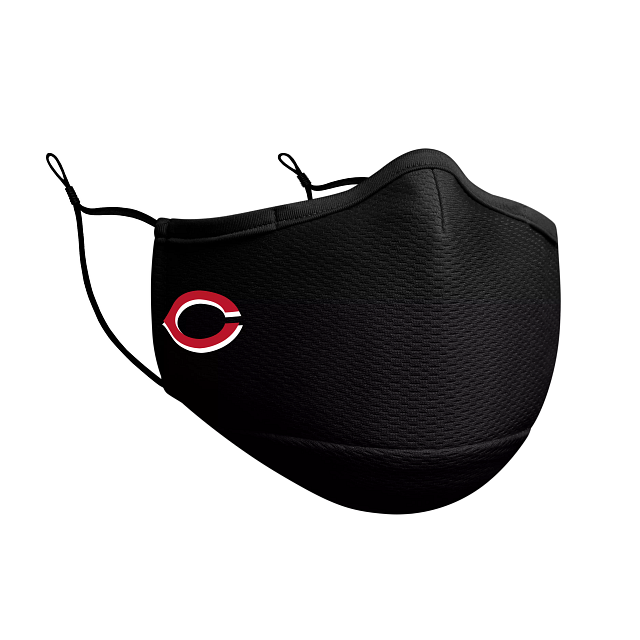 Cincinnati Reds Black Face Mask | Cincinnati Reds Face Coverings | New Era Cap