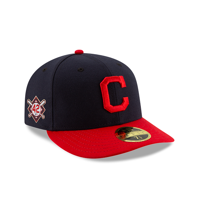 Cleveland Indians Jackie Robinson Day Low Profile 59FIFTY Fitted | Cleveland Indians Hats | New Era Cap