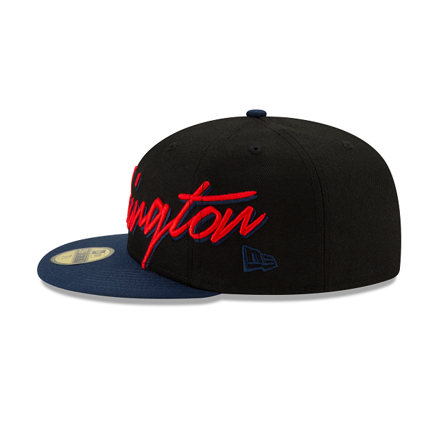 Washington Wizards Cursive 59FIFTY Fitted | Washington Wizards Hats | New Era Cap