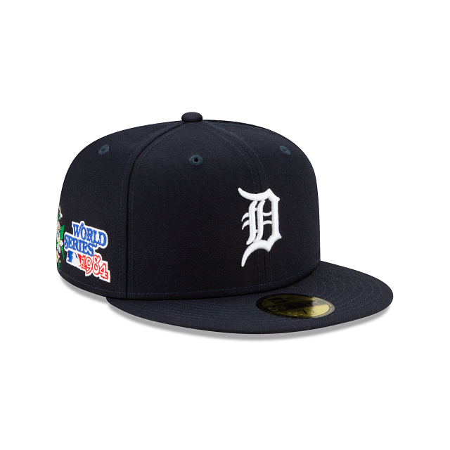 Detroit Tigers State Flower 59FIFTY Fitted | Detroit Tigers Hats | New Era Cap
