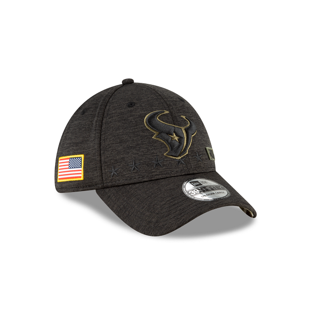 Houston Texans Salute To Service 39THIRTY Stretch Fit | Houston Texans Hats | New Era Cap