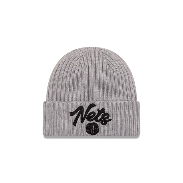 Brooklyn Nets NBA Draft Cuff Knit Beanie | Brooklyn Nets Hats | New Era Cap