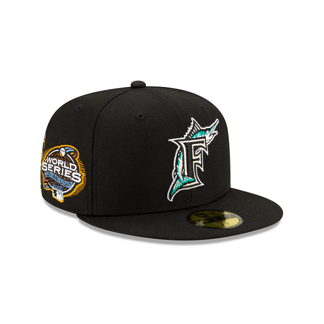Florida Marlins State Flower 59FIFTY Fitted | Miami Marlins Hats | New Era Cap