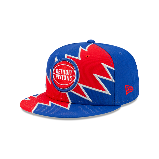 Detroit Pistons Flash 9FIFTY Snapback | Detroit Pistons Hats | New Era Cap