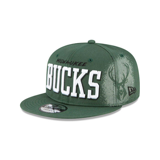 Milwaukee Bucks Faded 9FIFTY Snapback | Milwaukee Bucks Hats | New Era Cap