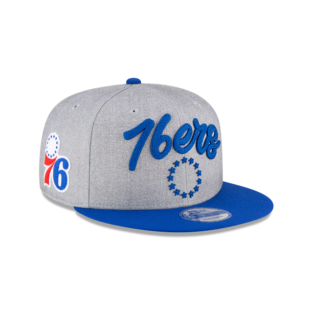 Philadelphia 76ers Official NBA Draft 9FIFTY Snapback | Philadelphia 76ers Hats | New Era Cap