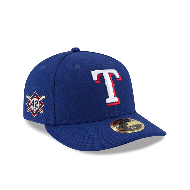 Texas Rangers Jackie Robinson Day Low Profile 59FIFTY Fitted | Texas Rangers Hats | New Era Cap