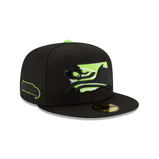 Seattle Seahawks State Logo Reflect 59FIFTY Fitted | Seattle Seahawks Hats | New Era Cap