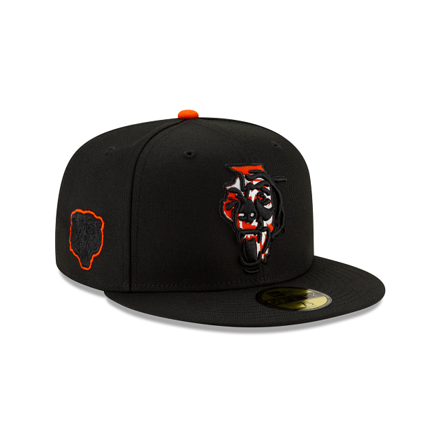 Chicago Bears State Logo Reflect 59FIFTY Fitted | Chicago Bears Hats | New Era Cap