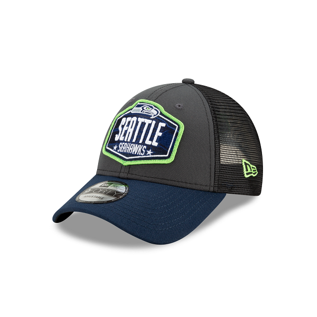Seattle Seahawks NFL Draft 9FORTY Adjustable | Seattle Seahawks Hats | New Era Cap