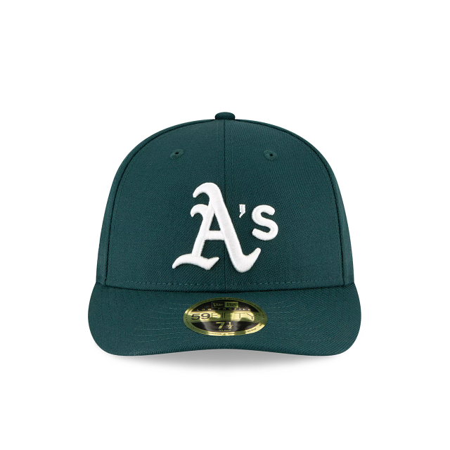 Oakland Athletics Crystals From Swarovski Flag Low Profile 59FIFTY Fitted | Oakland Athletics Hats | New Era Cap