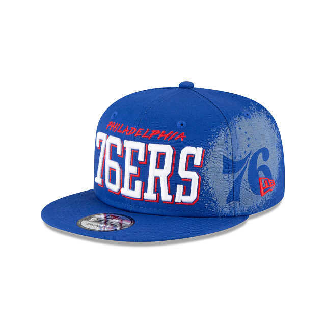 Philadelphia 76ers Faded 9FIFTY Snapback | Philadelphia 76ers Hats | New Era Cap
