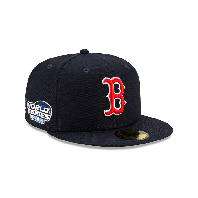 Boston Red Sox State Flower 59FIFTY Fitted | Boston Red Sox Hats | New Era Cap