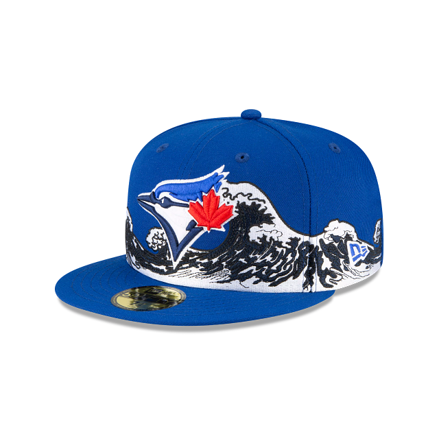 Toronto Blue Jays Wave 59FIFTY Fitted | Toronto Blue Jays Hats | New Era Cap